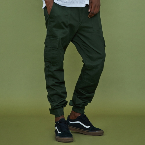 [XTONZ] XP12 Velcro Painter Pants - khaki