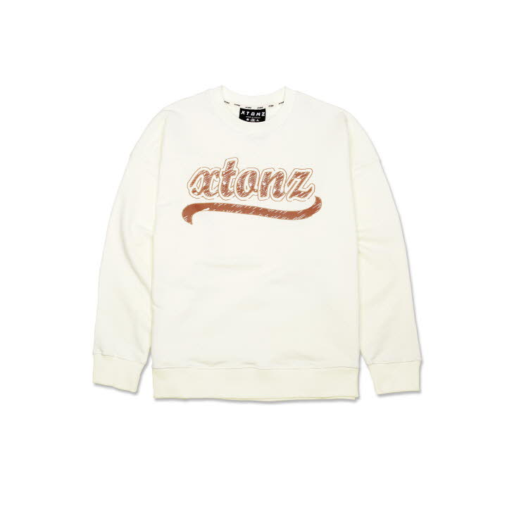 XTM010 SKETCH SWEAT SHIRT (CREAM)