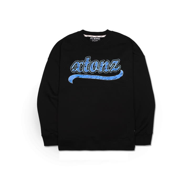 XTM010 SKETCH SWEAT SHIRT (BLACK)