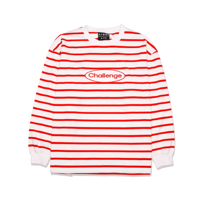 XTT014 ACTRO STRIPE LONG SLEEVE (RED)