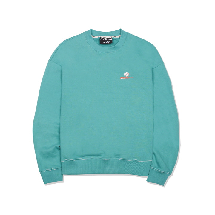 XTM011 OVERLAP LOGO MAN TO MAN (MINT)