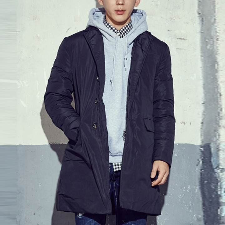 VALLIER DOWN COAT (Black)